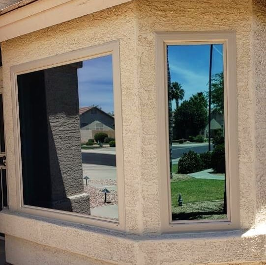 Arizona Window and Door in Scottsdale and Tucson showing large windos of home