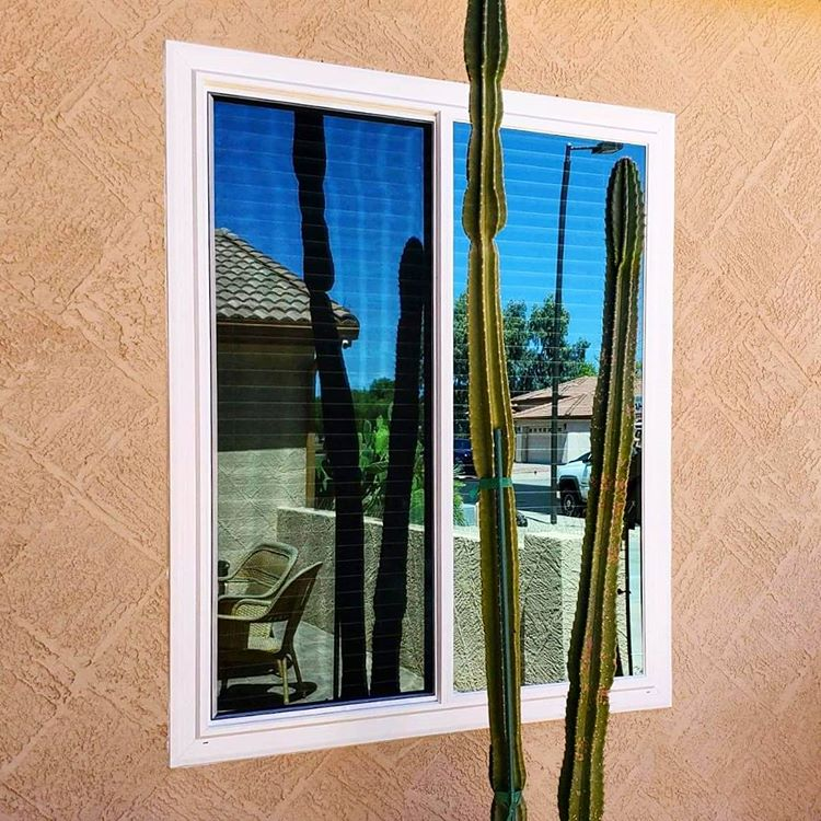 Arizona Window and Door in Scottsdale and Tucson showing white windows of home