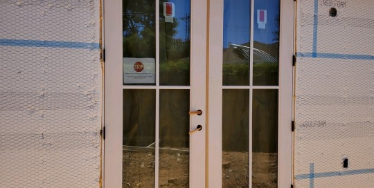 Arizona Window and Door in Scottsdale and Tucson showing installation of french doors
