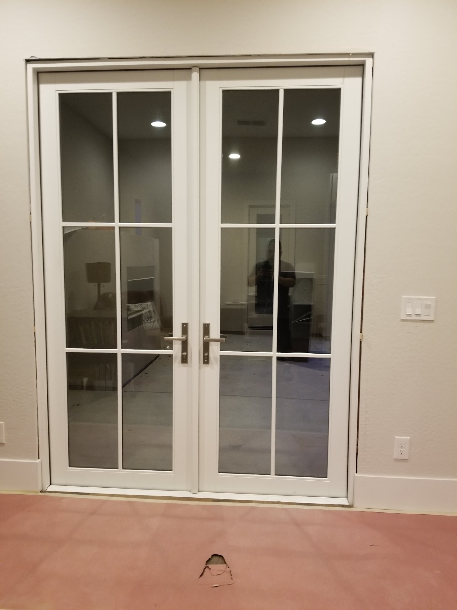 Arizona Window and Door in Scottsdale and Tucson showing back french doors