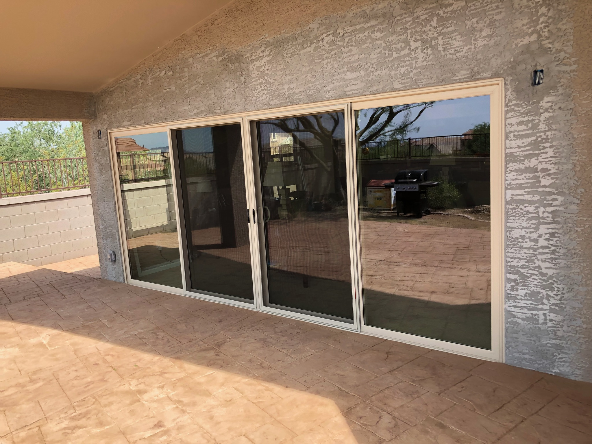 Arizona Window and Door in Scottsdale and Tucson showing sliding patio french doors