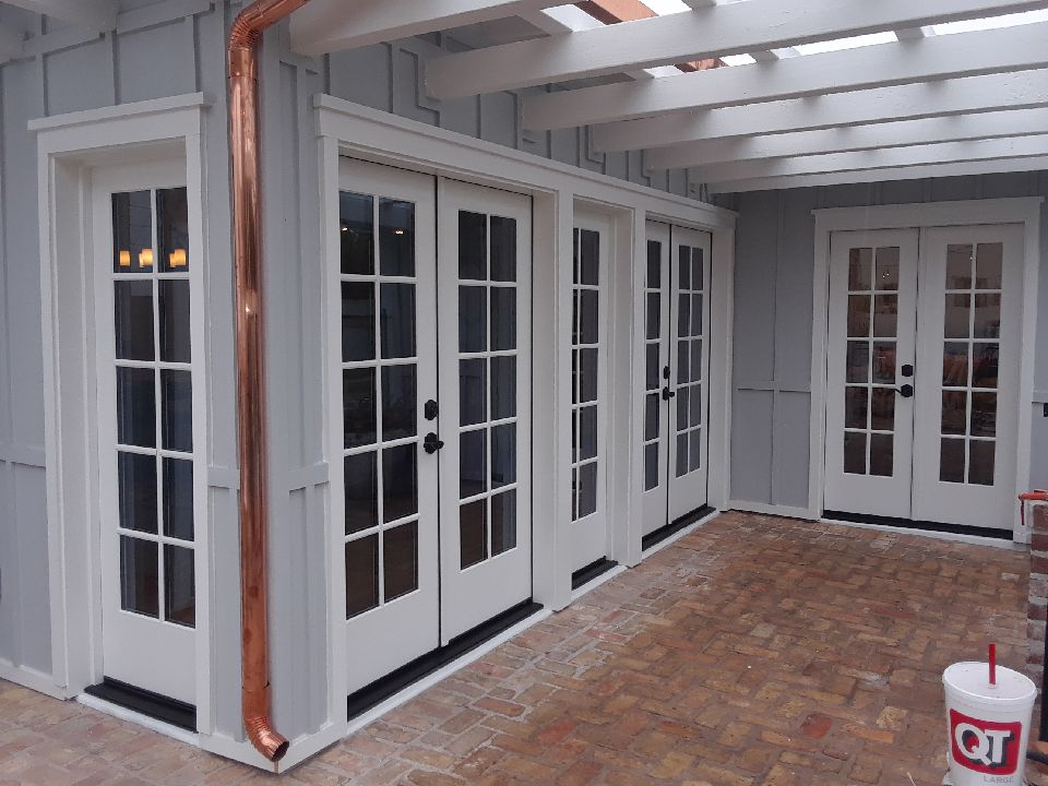 Arizona Window and Door in Scottsdale and Tucson showing multiple french doors