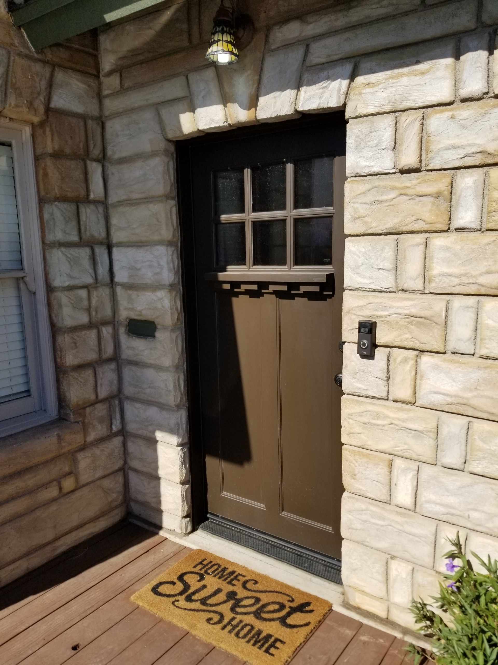 Arizona Window and Door in Scottsdale and Tucson showing custom wood door with windows