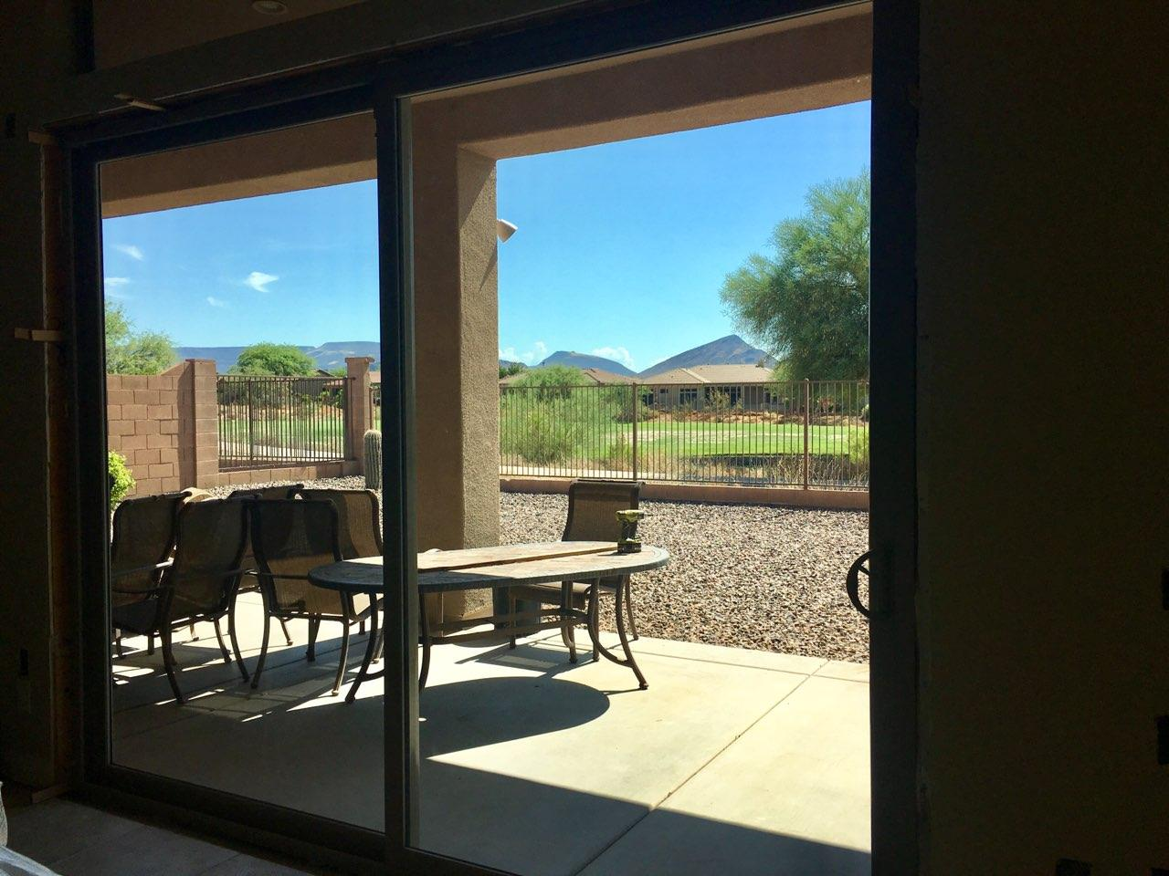 Arizona Window and Door in Scottsdale and Tucson showing sliding patio door