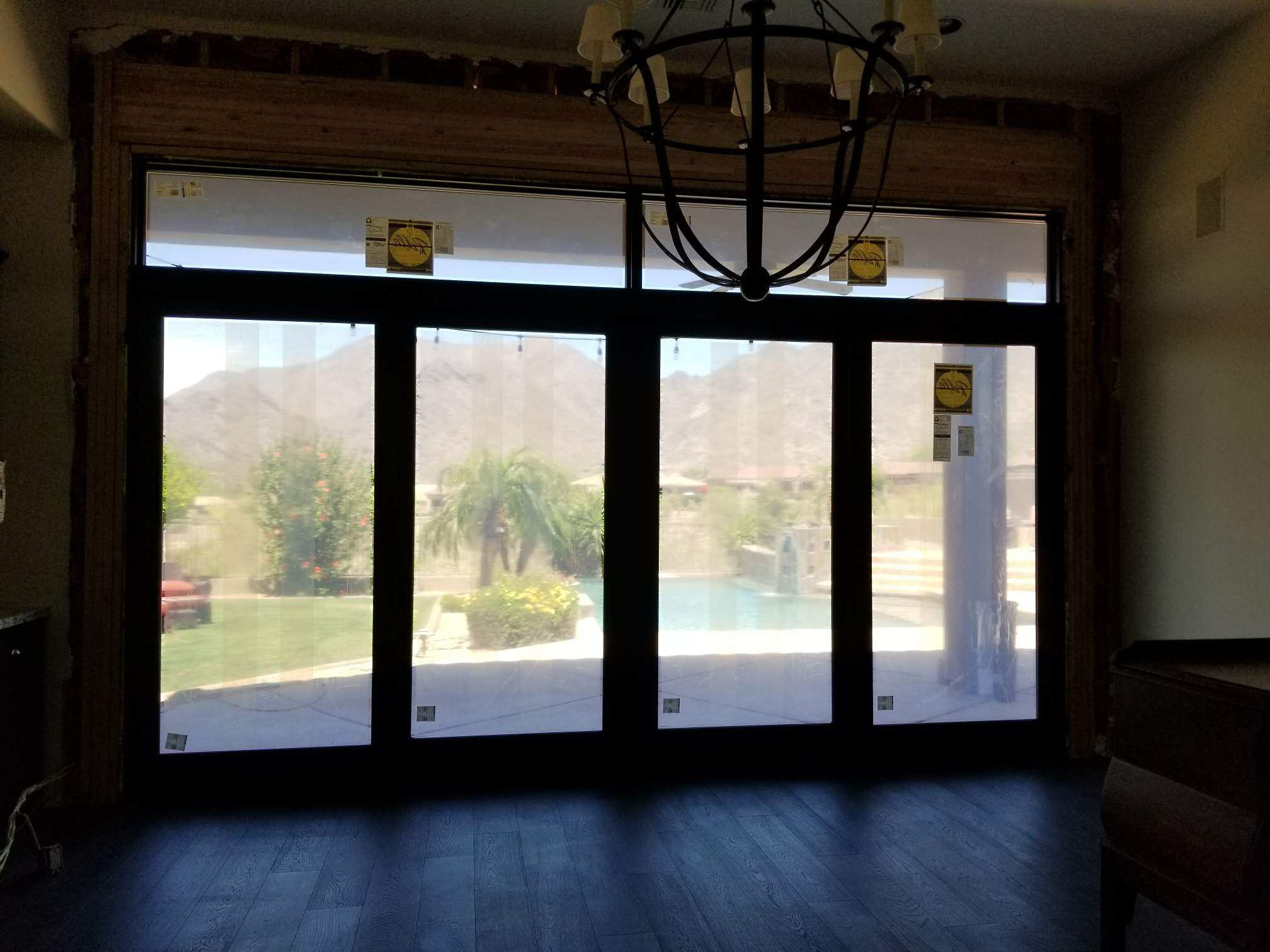 Arizona Window and Door in Scottsdale and Tucson showing large panel doors