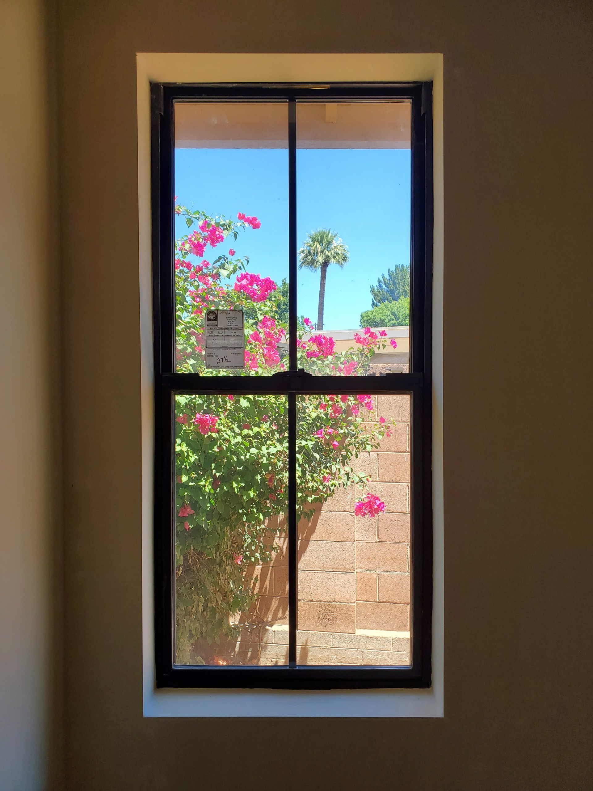 Arizona Window and Door in Scottsdale and Tucson showing long black windows