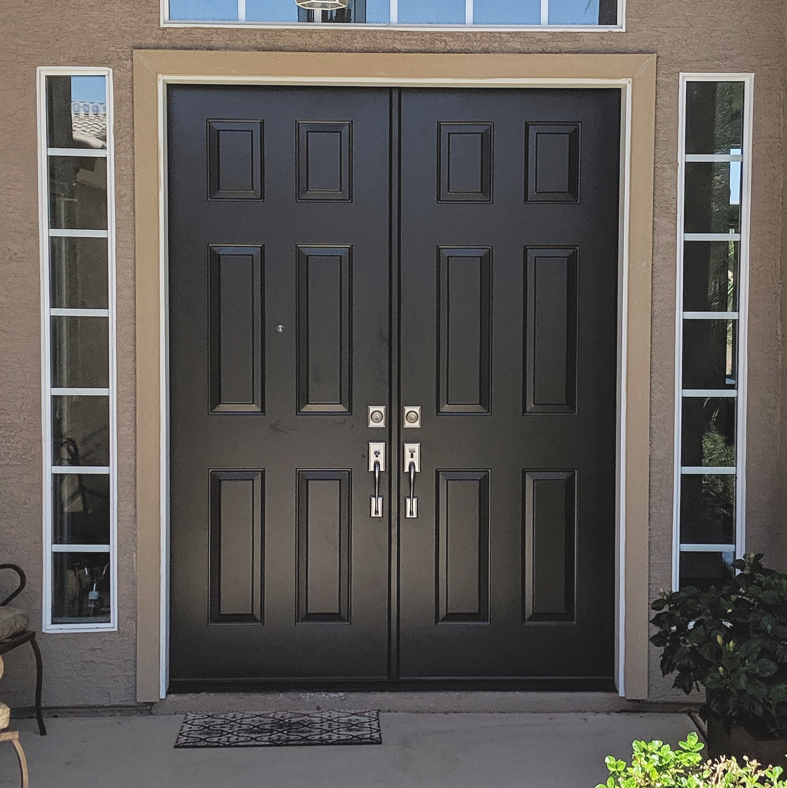 Arizona Window and Door in Scottsdale and Tucson showing front french doors