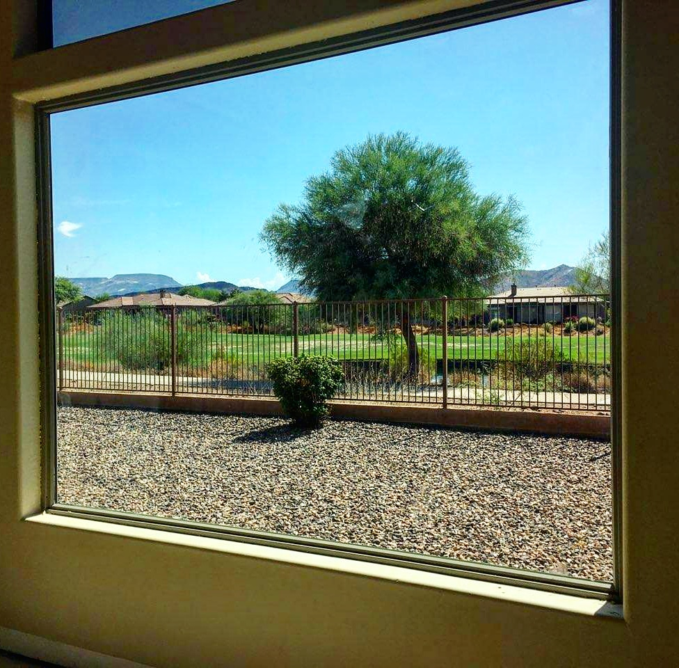 Arizona Window and Door in Scottsdale and Tucson showing large side window of home