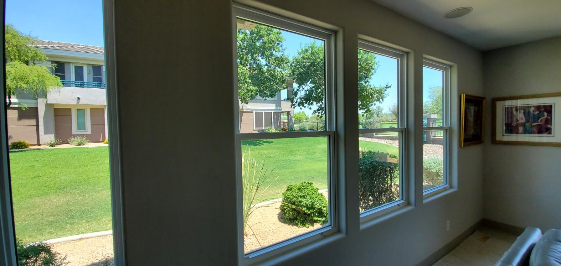 Arizona Window and Door in Scottsdale and Tucson showing multiple sliding windows