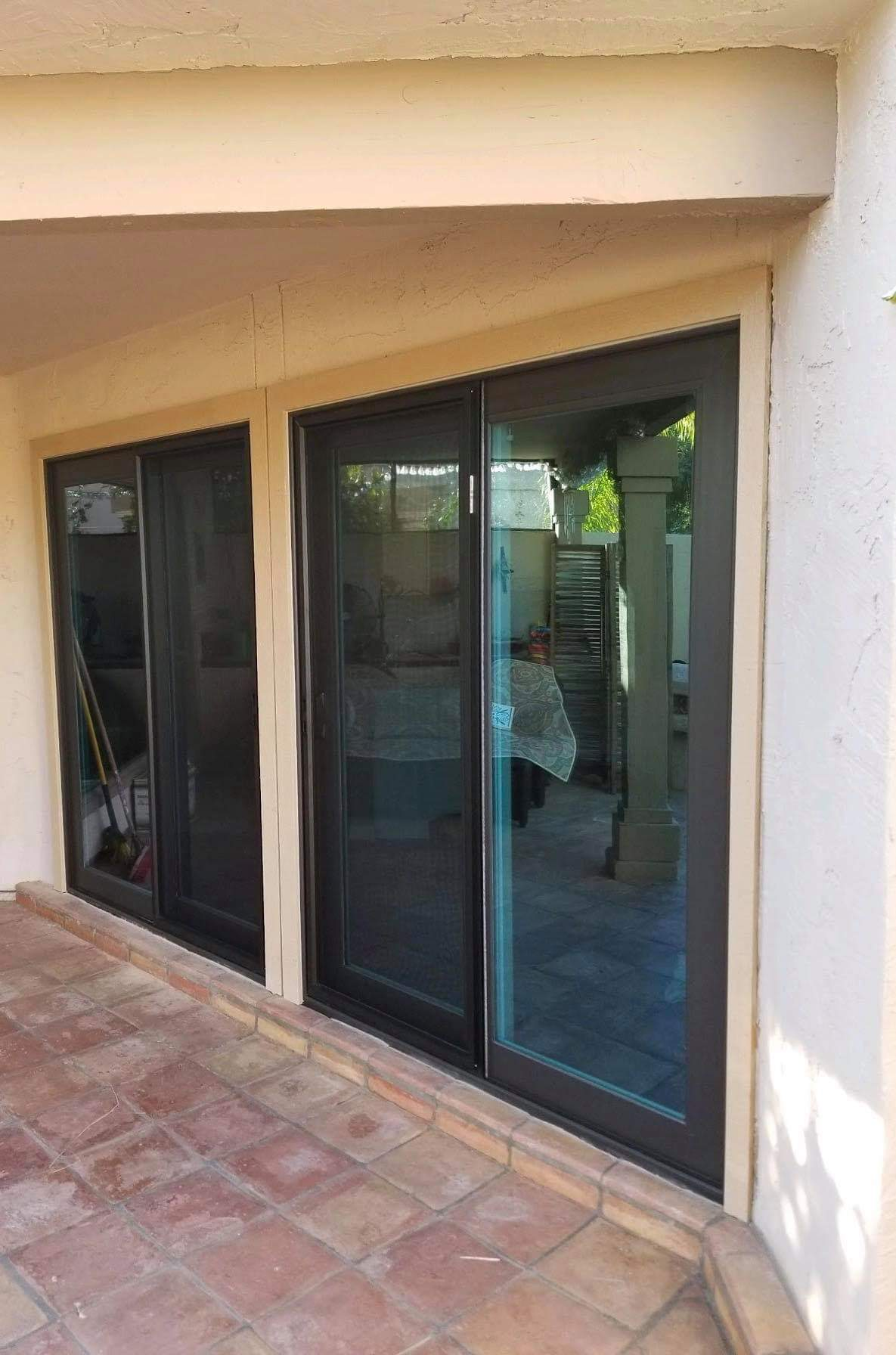 Arizona Window and Door in Scottsdale and Tucson showing sliding multipanel door
