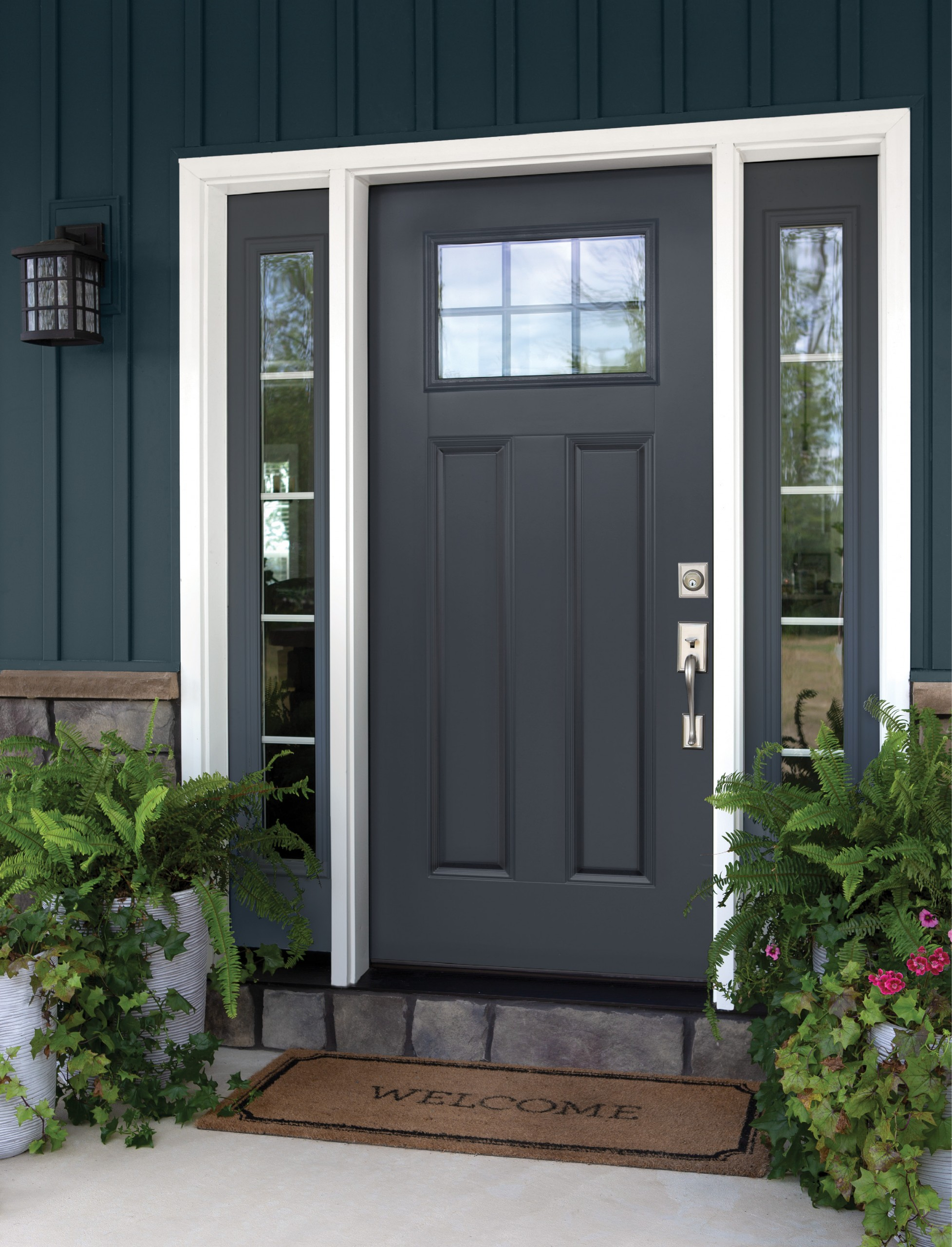Arizona Window and Door in Scottsdale and Tucson showing decorative door with windows