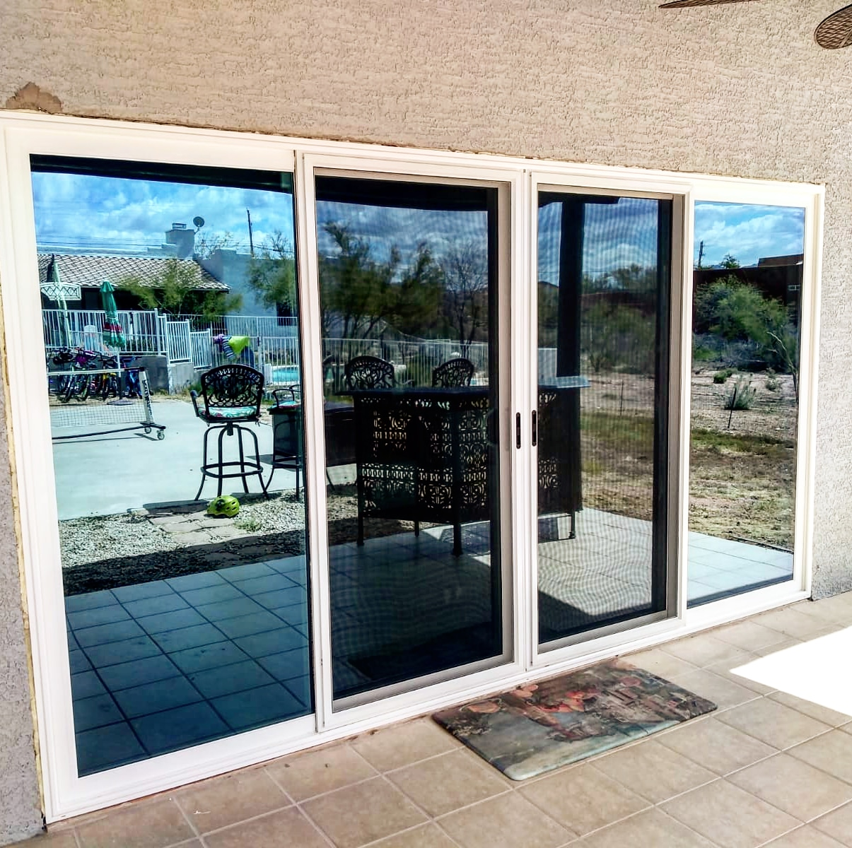 Arizona Window and Door in Scottsdale and Tucson showing patio french doors