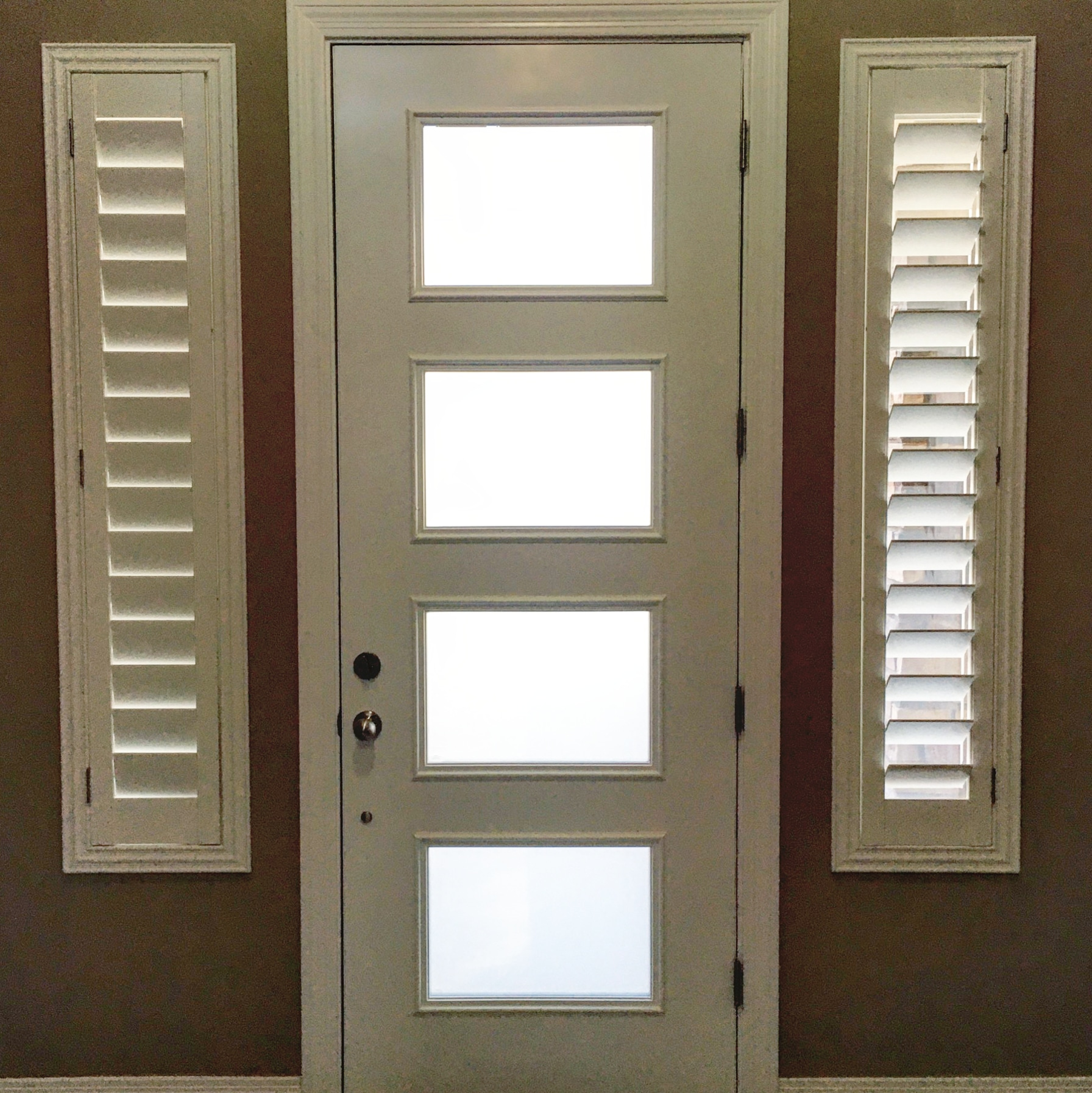 Arizona Window and Door in Scottsdale and Tucson showing front door with windows