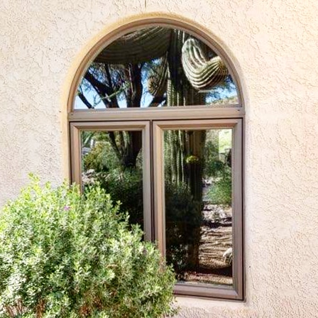Arizona Window and Door in Scottsdale and Tucson showing small domed window on home