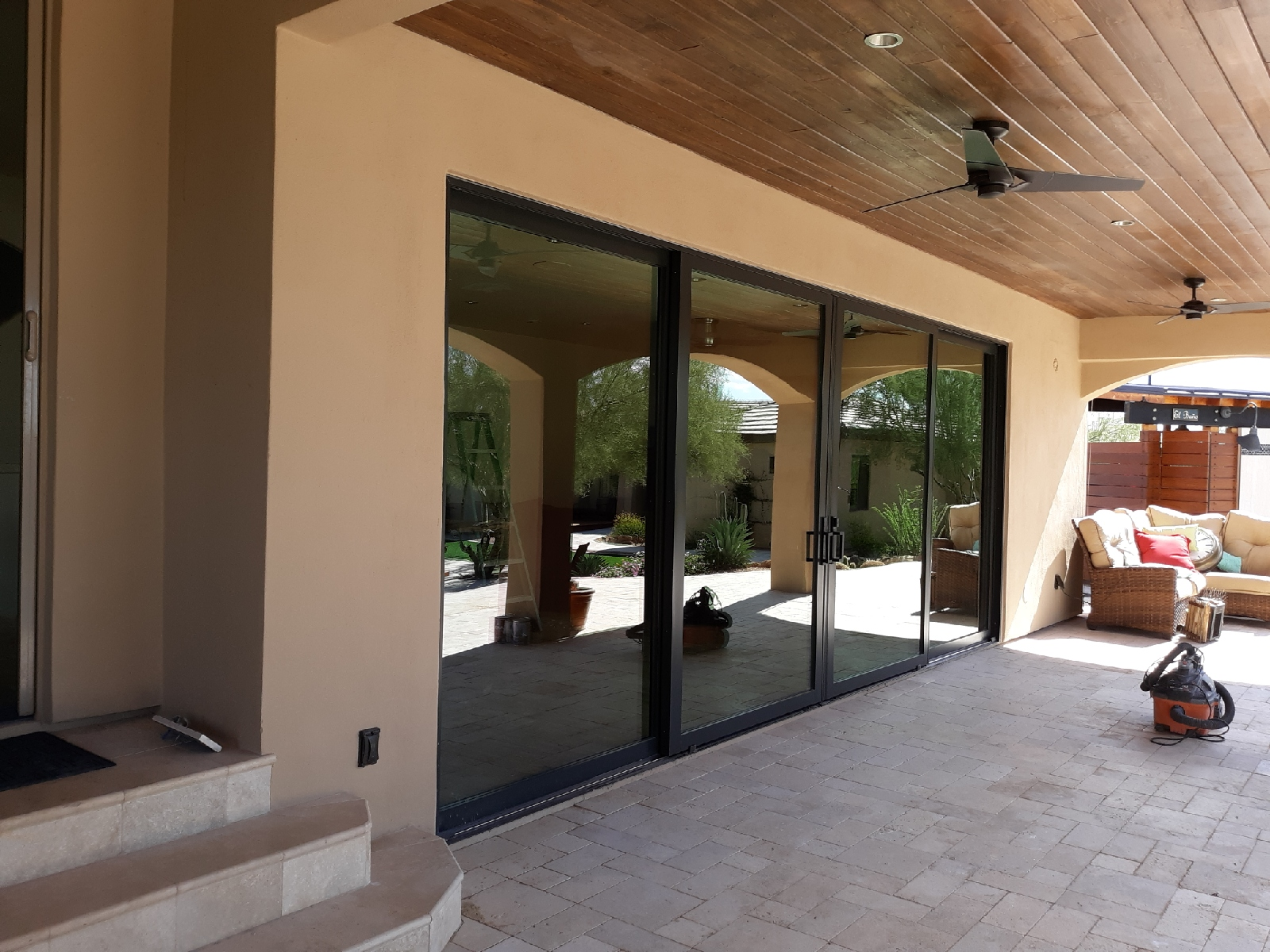 Arizona Window and Door in Scottsdale and Tucson showing multipanel doors