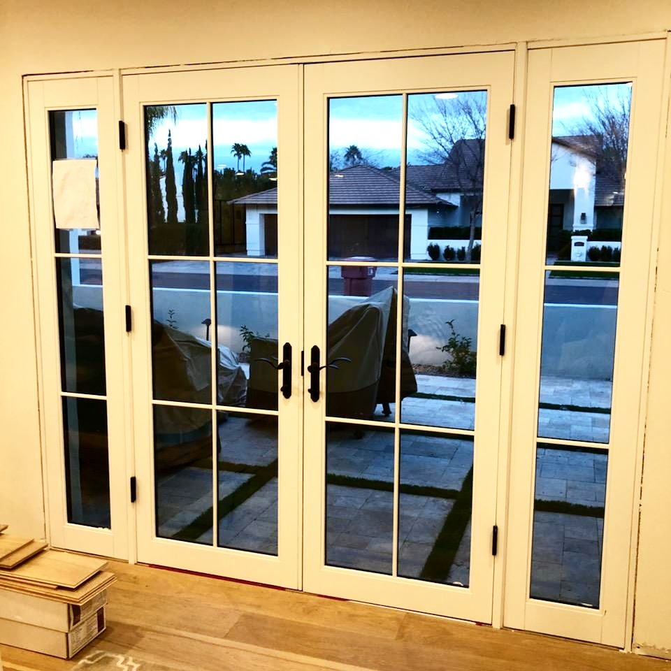 Arizona Window and Door in Scottsdale and Tucson showing french swinging doors
