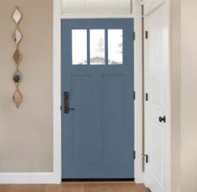 Arizona Window and Door in Scottsdale and Tucson showing blue front door with windows