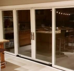 Arizona Window and Door in Scottsdale and Tucson showing white sliding doors