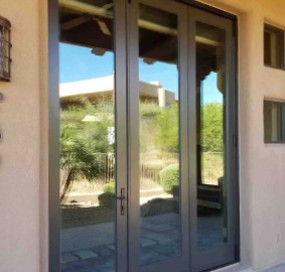 Arizona Window and Door in Scottsdale and Tucson showing french back doors