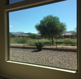 Arizona Window and Door in Scottsdale and Tucson showing large window of home