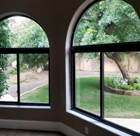 Arizona Window and Door in Scottsdale and Tucson showing windows with domed top on home