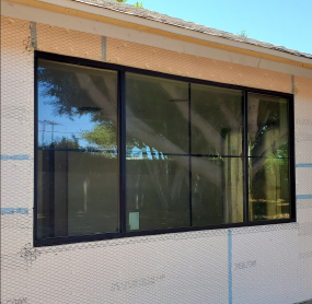 Arizona Window and Door in Scottsdale and Tucson showing construction of home windows