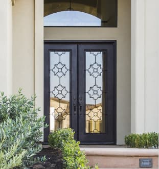 Arizona Window and Door in Scottsdale and Tucson showing decorative front door